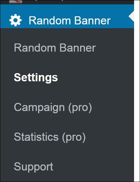 Random Banner - Advertising WordPress plugin